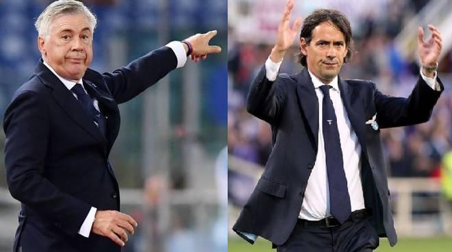 Copertina Ancelotti_Inzaghi_Pre partita:Napoli Lazio_2019_01_19