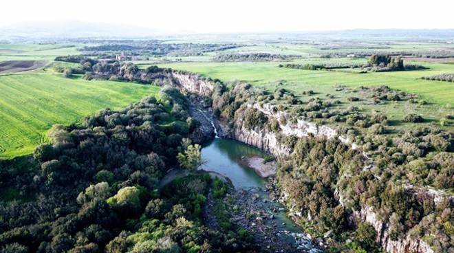 Parco di Vulci, laghetto Pelicone
