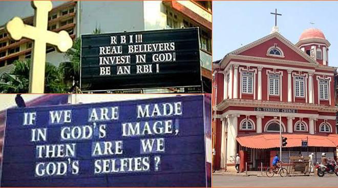 slogan parroci cristiani india