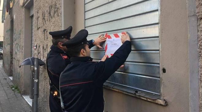 carabinieri forno civitavecchia cocaina