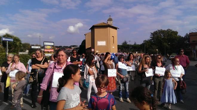 Mamme Etrusche in protesta