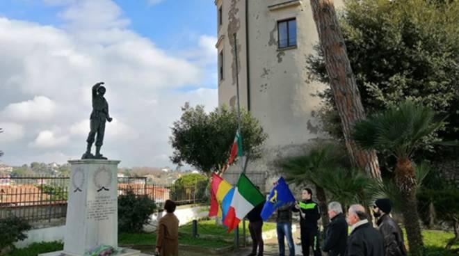 Minturno, CasaPound ricorda i martiri delle Foibe