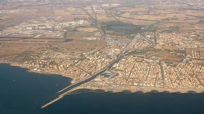 panorama fiumicino
