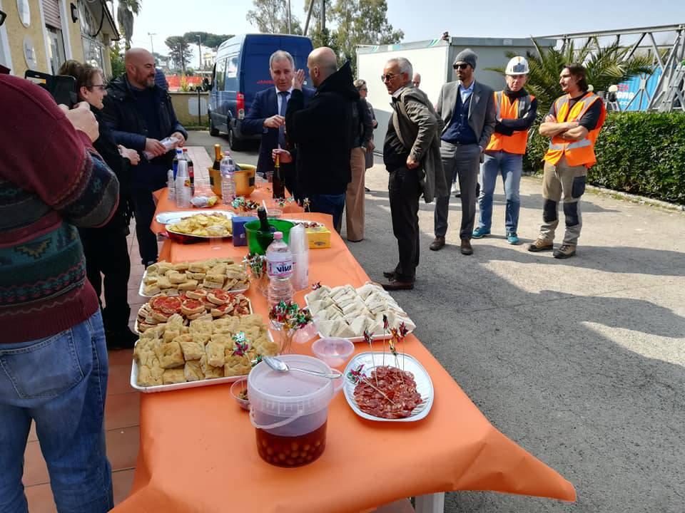 Ponte sul Sisto, il comitato festeggia l'inizio dei lavori