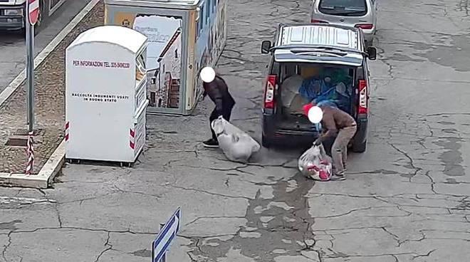 rifiuti in strada fondi
