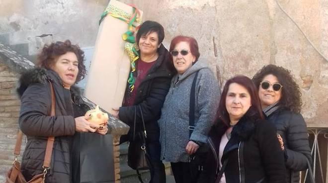 Regalo al Sindaco di Ardea_Maniglione bagno disabili