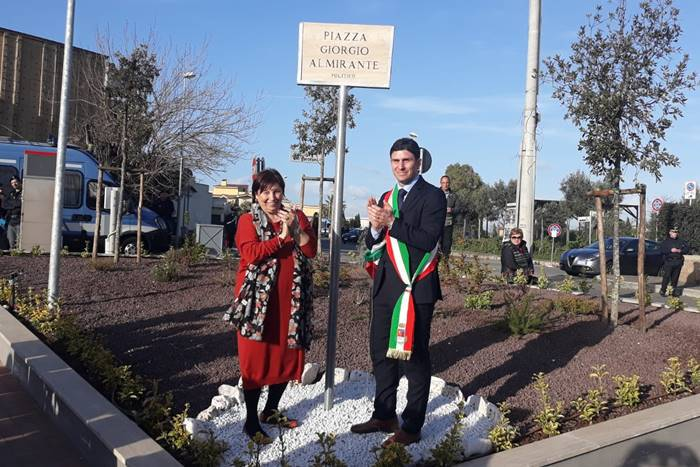 inaugurazione piazza almirante ladispoli