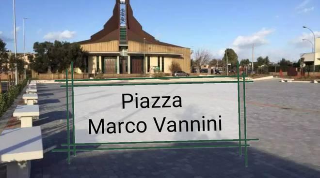 intitolazione vannini
