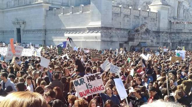 sciopero clima roma