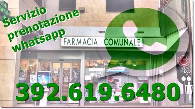 whatsapp farmacia comunale parco leonardo