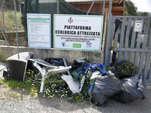 Ex piattaforma Vallesica a Sperlonga, il degrado continua