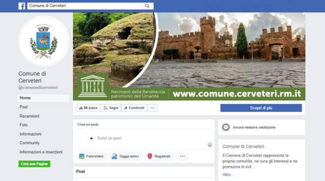 facebook comune cerveteri