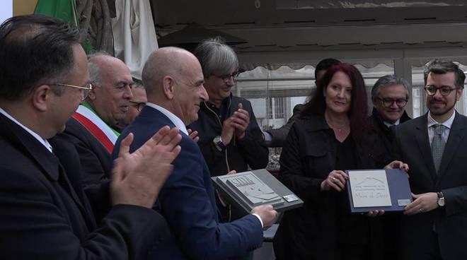 """""""Il mare di Circe"""", ieri a Ponza il passaggio di consegne per la Città della cultura 2019"""