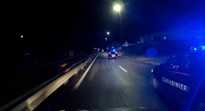 inseguimento carabinieri