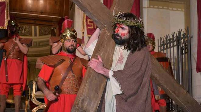 via crucis anzio