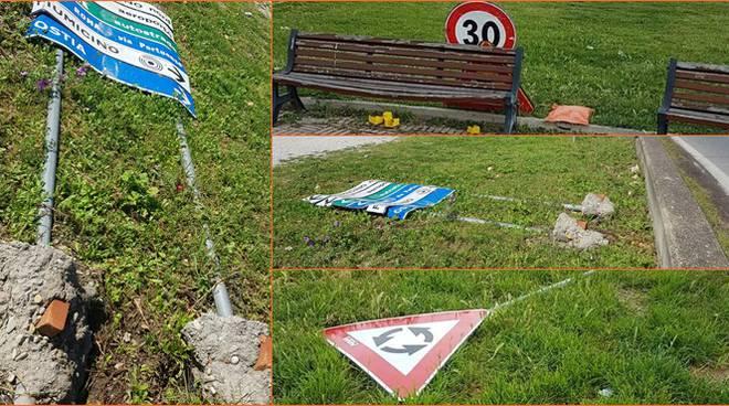 cartelloni caduti