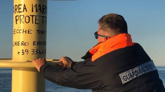 guardia costiera secche di tor paterno