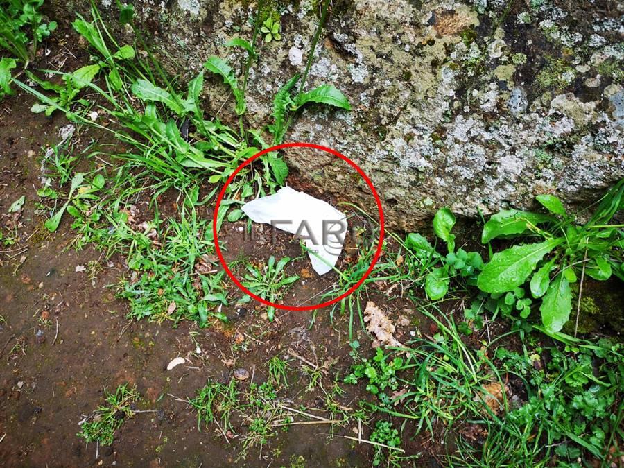Incivili alla Necropoli della Banditaccia: plastiche e rifiuti nelle tombe etrusche