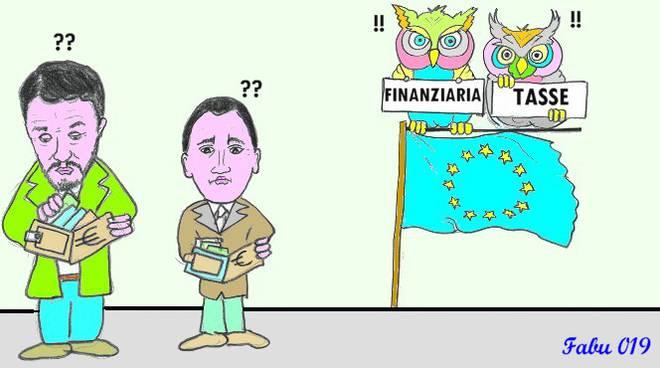 La vignetta di Fabu