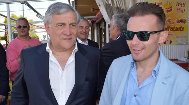 Marco Maranesi e Tajani