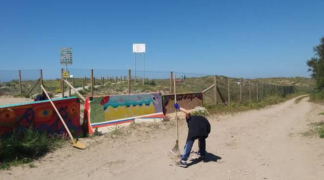 pulizia dune passoscuro