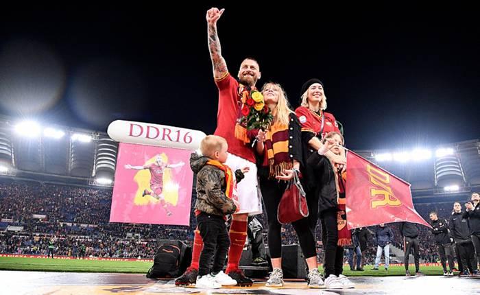 Ultima partita di Daniele De Rossi con la maglia della As Roma