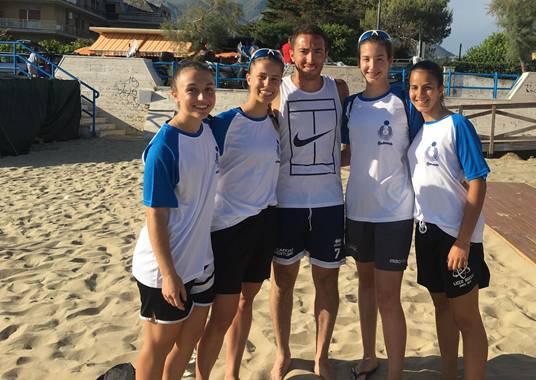 """Beach volley: allo """"Spiaggione"""" di Gianola la tappa del campionato italiano femminile under19"""