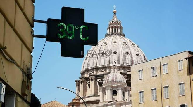 caldo afa roma estate