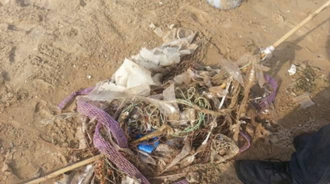 Il litorale di Ponente invaso dalla plastica, parte l'esposto di Legambiente Terracina