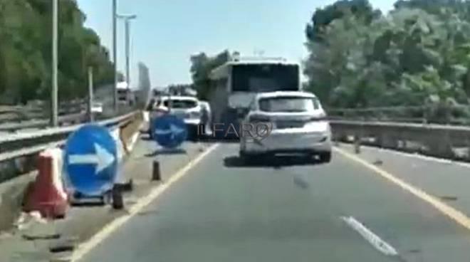 incidente viadotto via dell'aeroporto