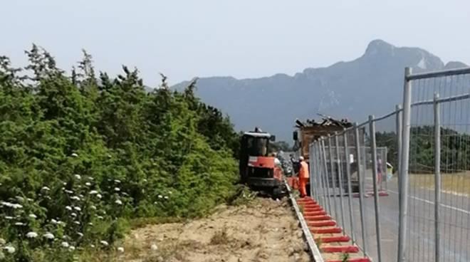Passeggiata ciclopedonale sul Lungomare: a Sabaudia al via i lavori di eliminazione della passerella