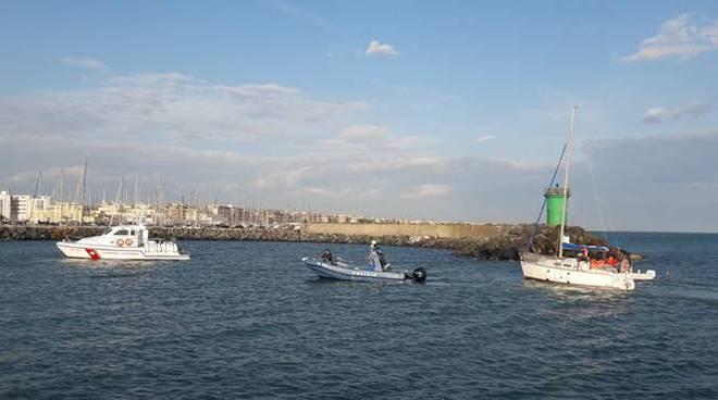 salvataggio imbarcazione