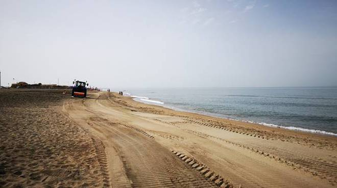spiaggia campo di mare