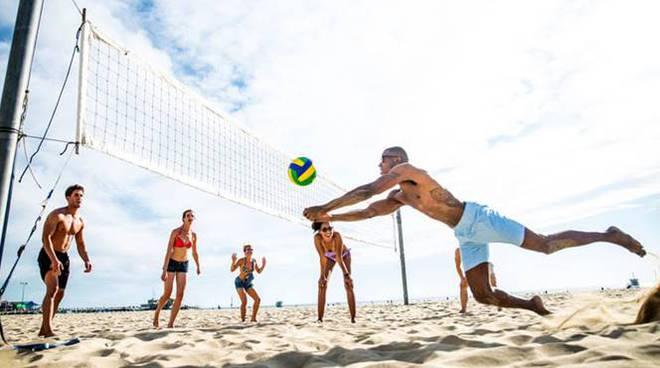sport spiaggia