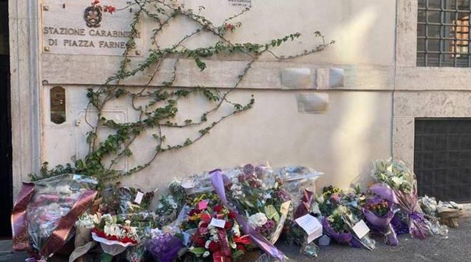 fiori carabinieri