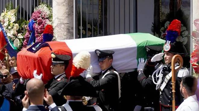 funerali carabiniere rega