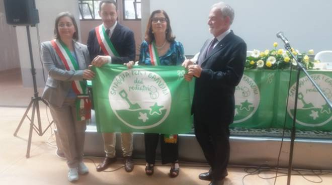 Il  litorale di Terracina a misura di bambino: consegnata la Bandiera verde