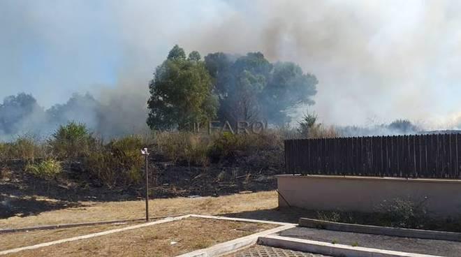 incendio granaretto