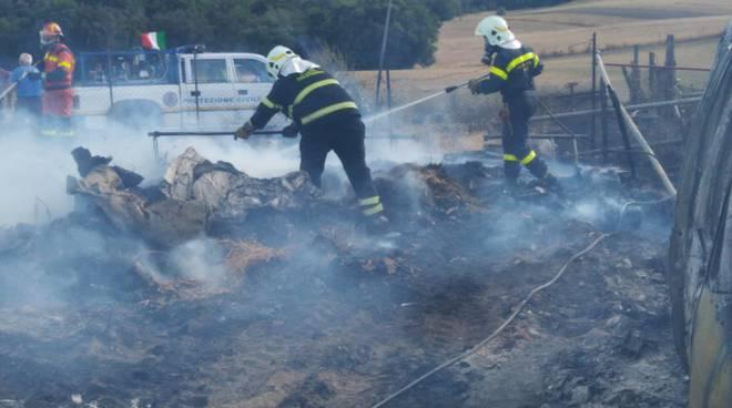 incendio protezione civile