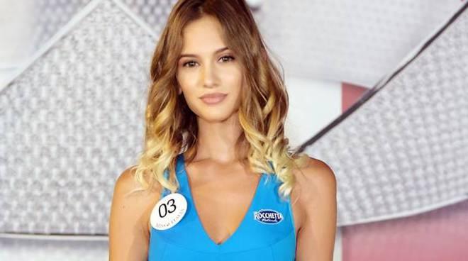 Ludovica De Valeri Miss Mascotte Lazio