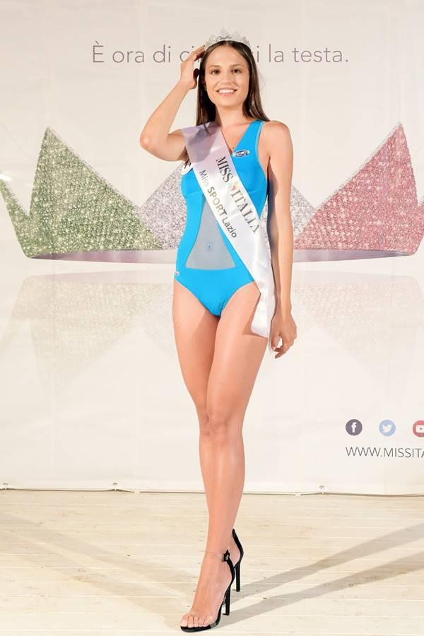 Miss Italia, l'anziate Ludovica Cortese è Miss Sport Lazio 2019