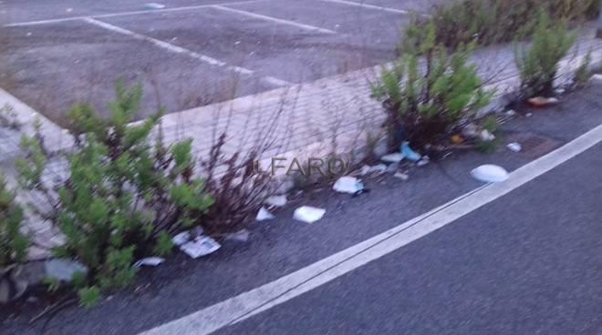 parcheggio via Guarini a Parco Leonardo