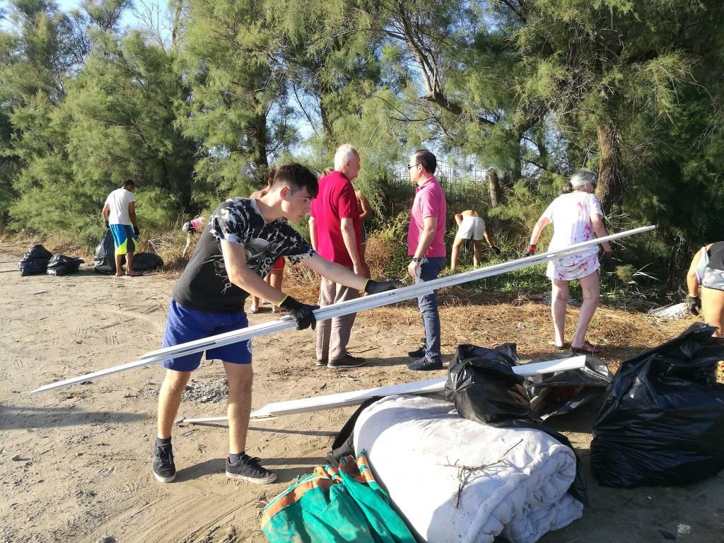 pulizia dune passoscuro ragazzi