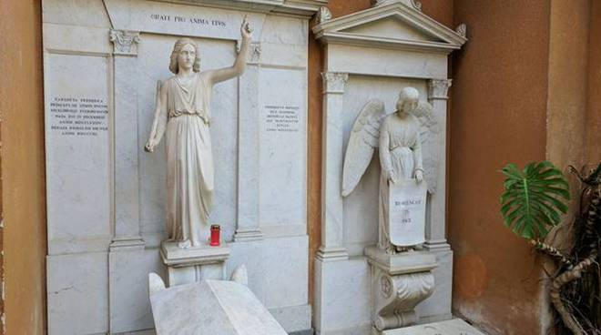 tombe cimitero teutonico caso orlandi vaticano