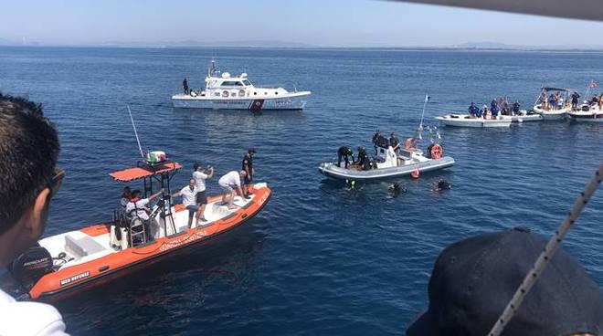 toninelli Civitavecchia guardia costiera