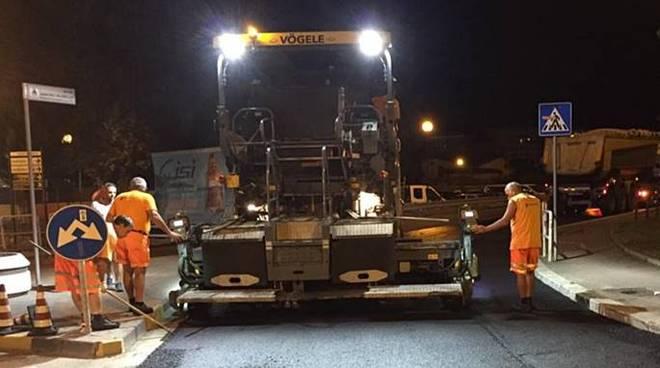 asfaltatura lavori strada