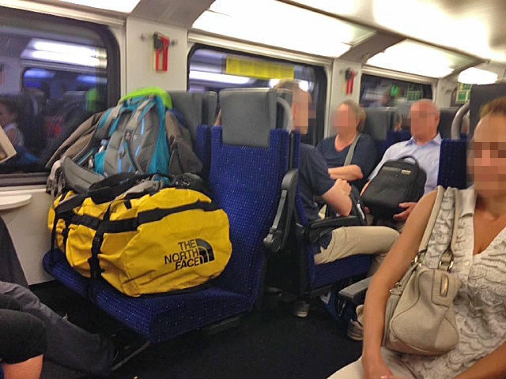 bagagli in treno