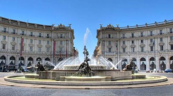 fontana delle naiadi roma piazza della repubblica