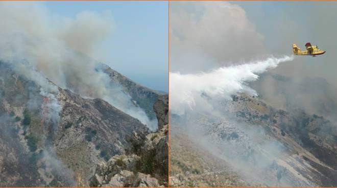 incendio monte Redentore