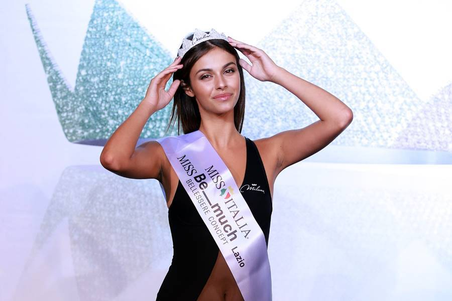 Miss Italia, Aurora Fedeli eletta Miss Be Much Lazio 2019